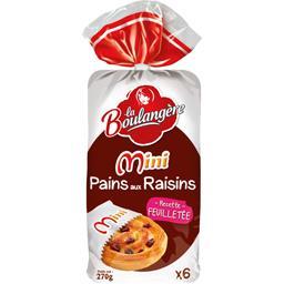 Mini pains aux raisins