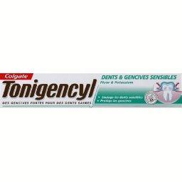 Tonigencyl - Dentifrice Dents & Gencives sensibles, fluor et potassium