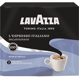Lavazza Lavazza Café moulu décaféiné