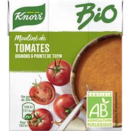 Mouliné de tomates oignons et pointe d'herbes BIO