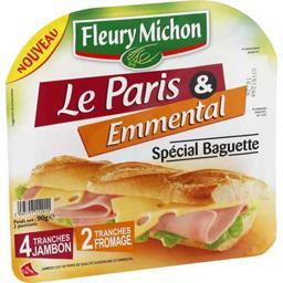 Jambon Le Paris & emmental spécial baguette