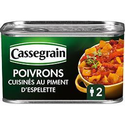 Poivrons cuisinés au piment d'Espelette
