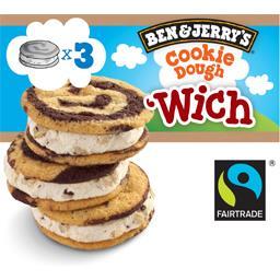 Wich - Crème glacée vanille aux cookies