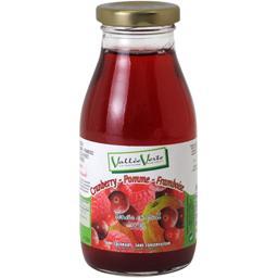 Jus de cranberry pomme framboise