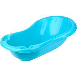 Baignoire avec vidange Turquoise