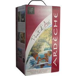 Vin de pays Ardèche, vin rouge