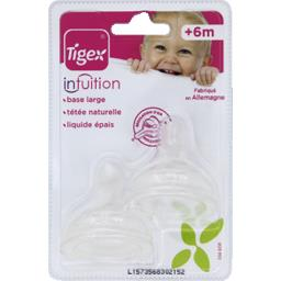 Tétines Intuition taille 3, +6 mois