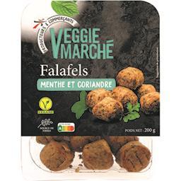 Falafels pois chiches épinards & oignons