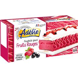 Feuilleté glacé fruits rouges