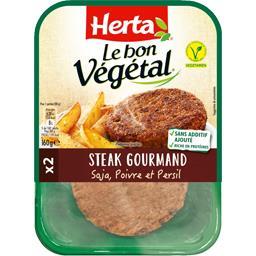 Le Bon Végétal - Steak gourmand poivre et persil