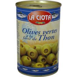 Olives vertes à la farce de thon