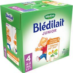 Blédilait - Liquide de suite liquide Junior 4, de 18...