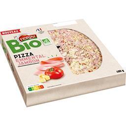 Pizza Emmental jambon BIO