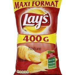 Chips nature sel réduit