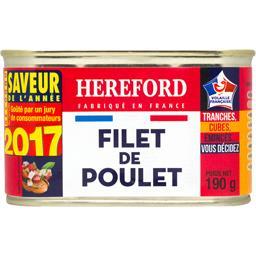 Hereford Filet de Poulet 190 g - Lot de 6