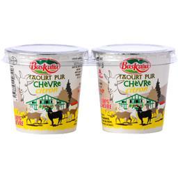 Baskalia Yaourt pur chèvre citron les 2 pots de 125 g