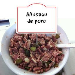 Museau de porc Lyonnais, au rayon traditionnel,PIERRE MARTINET,au rayon traditionnel, à la coupe