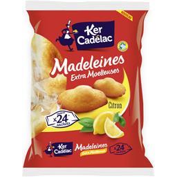 Ker Cadélac Madeleines extra moelleuses saveur citron