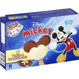 Walt Disney Mickey - Bâtonnets vanille & chocolat au lait