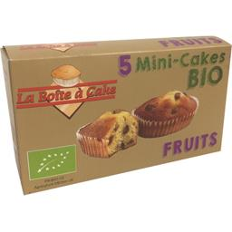 Mini-cakes fruits BIO