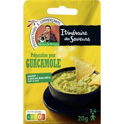 Saveur du Mexique - Préparation pour guacamole