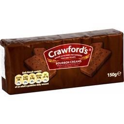 Biscuits fourrés à la crème parfum chocolat