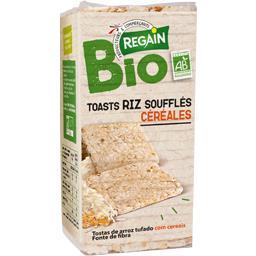 Toasts de riz soufflés aux céréales bio