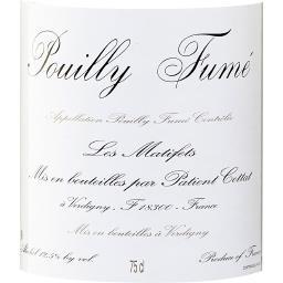 Pouilly Fumé Patient Cottat vin Blanc sec 2017