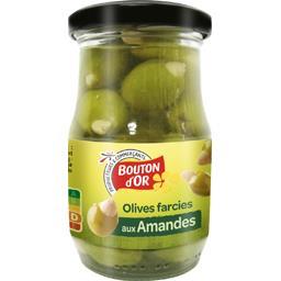 Olives vertes farcies aux amandes