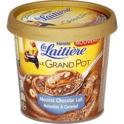 Le Grand Pot - Mousse chocolat lait noisettes & caramel