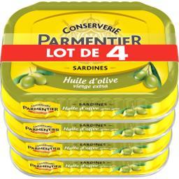 Parmentier Sardines huile d'olive