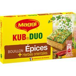 Bouillon Kub Duo épices et herbes orientales