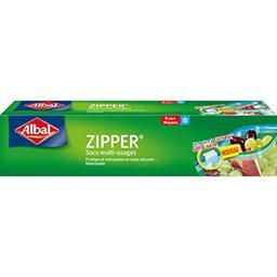 Sacs congélation multi-usages Zipper moyen modèle 3 ...