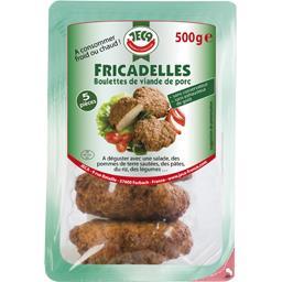 Jeca Fricadelles boulettes de viande de porc la barquette de 5 - 500 g