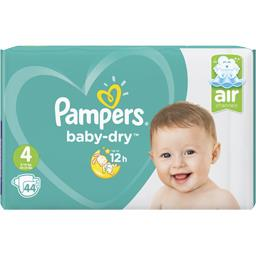 Baby-dry - taille 4 9-14 kg - couches
