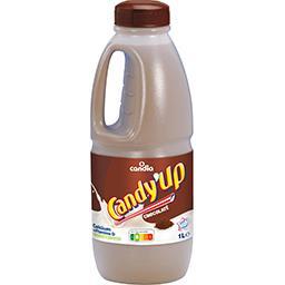 Candy'up, boisson lactée chocolatée stérilisée UHT, la bouteille,CANDIA,la bouteille de 1l