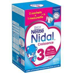 Nidal - Lait en poudre 3, dès 1 an