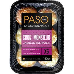 Croq' Monsieur jambon fromage