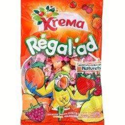 Bonbons très tendres aux arômes de fruits, Régal'ad