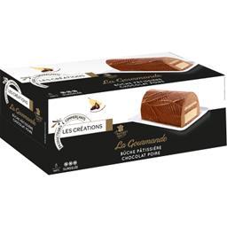 Les Créations La Gourmande bûche pâtissière chocolat poire la boite de 545 g