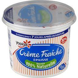 Crème fraîche épaisse 30% MG recette 100% naturelle