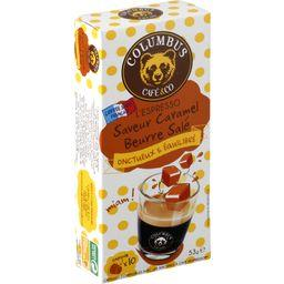 Capsules de café L'Espresso saveur caramel beurre sa...