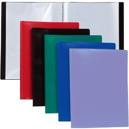 Reliure 40 vues coloris assortis