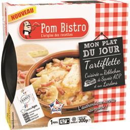 Pom Bistro Tartiflette cuisinée au Reblochon de Savoie et aux l... la barquette de 300 g
