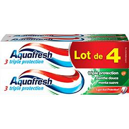 Aquafresh Dentifrice Triple Protection menthe douce