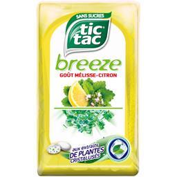 Tic Tac Bonbons Breeze goût mélisse citron