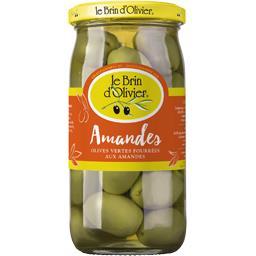 Olives vertes fourrées aux amandes