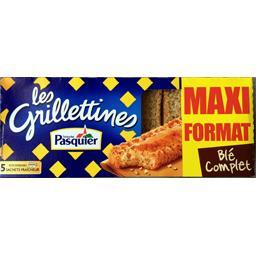 Les Grilletines - Tartines grillées céréales & graines