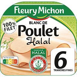 Blanc de poulet halal