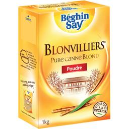 Blonvilliers - Sucre poudre pure canne blond